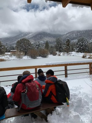 second day at Outdoor Ed with snow, picture 3