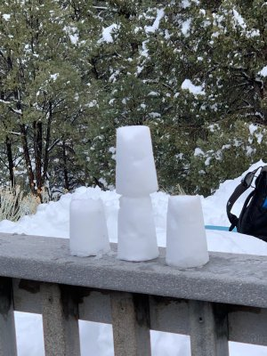 second day at Outdoor Ed with snow, picture 4